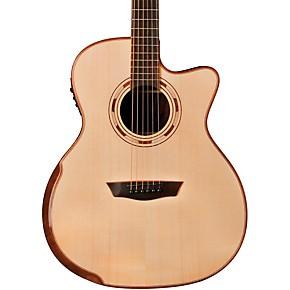 washburn wcg25sce comfort series grand auditorium cutaway acoustic electric guitar guitar center. Black Bedroom Furniture Sets. Home Design Ideas