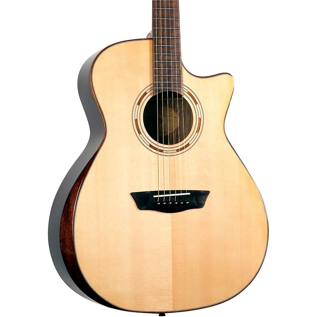 Washburn WCG70SCEG-O Comfort Grand Auditorium Acoustic-Electric Guitar