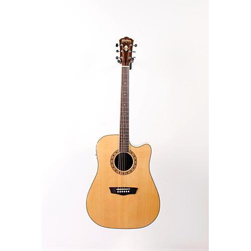 Washburn WD 10SCE Cutaway Acoustic-Electric Guitar