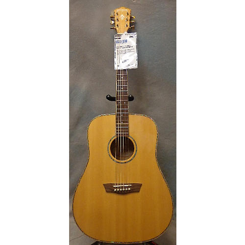 Washburn WD45S Natural Acoustic Guitar