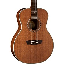 Washburn WF19S Mahogany Solid Top Folk Acoustic Guitar