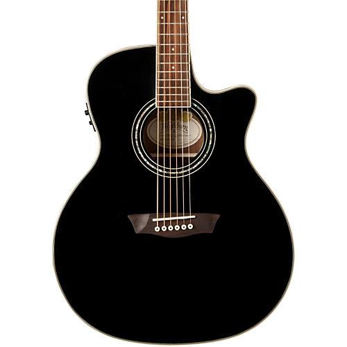 Washburn WGC18CE Grand Auditorium Acoustic-Electric Guitar