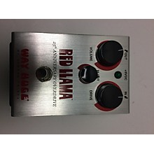 Way Huge Electronics WHE206 Red Llama Overdrive Effect Pedal