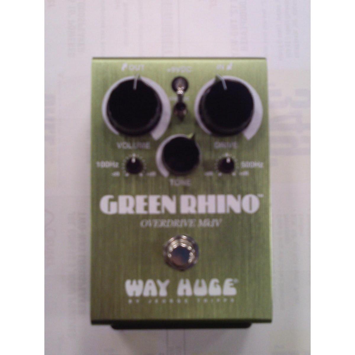 Way Huge Electronics WHE207 Green Rhino MKIV Effect Pedal