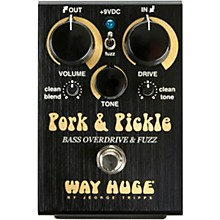 Way Huge Electronics WHE214 Pork & Pickle Overdrive/Fuzz Bass Effects Pedal