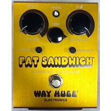 Way Huge Electronics WHE301 Fat Sandwich Harmonic Saturator Distortion Effect Pedal