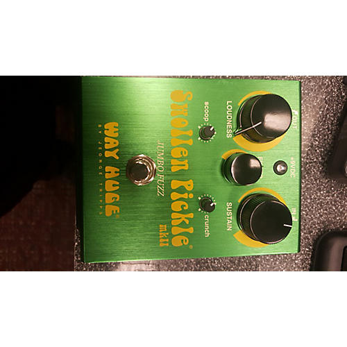 Way Huge Electronics WHE401 Swollen Pickle MKII Super Jumbo Fuzz Effect Pedal