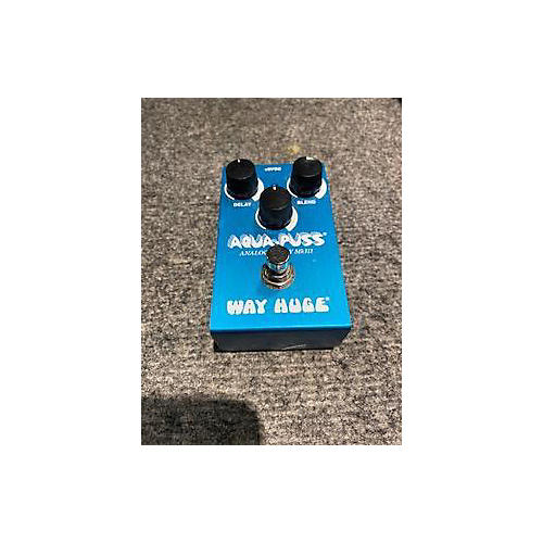 used way huge electronics whe701 aqua puss analog delay effect pedal guitar center. Black Bedroom Furniture Sets. Home Design Ideas