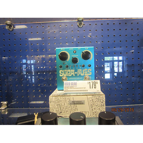 Way Huge Electronics WHE707 Supa Puss Delay Effect Pedal