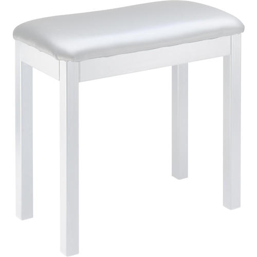 Stagg WHITE METAL FRAME PIANO BENCH