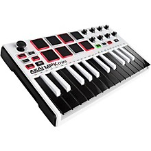 Akai Professional WHITE MPK Mini MKII Limited Edition