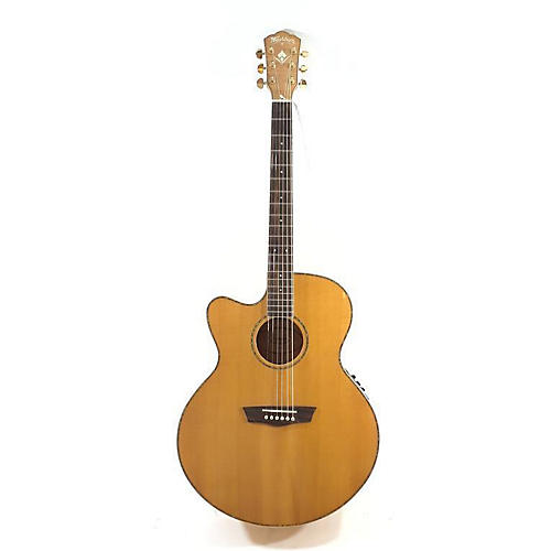 Washburn WJ45SCE Cumberland Deluxe Left Handed Acoustic Electric Guitar