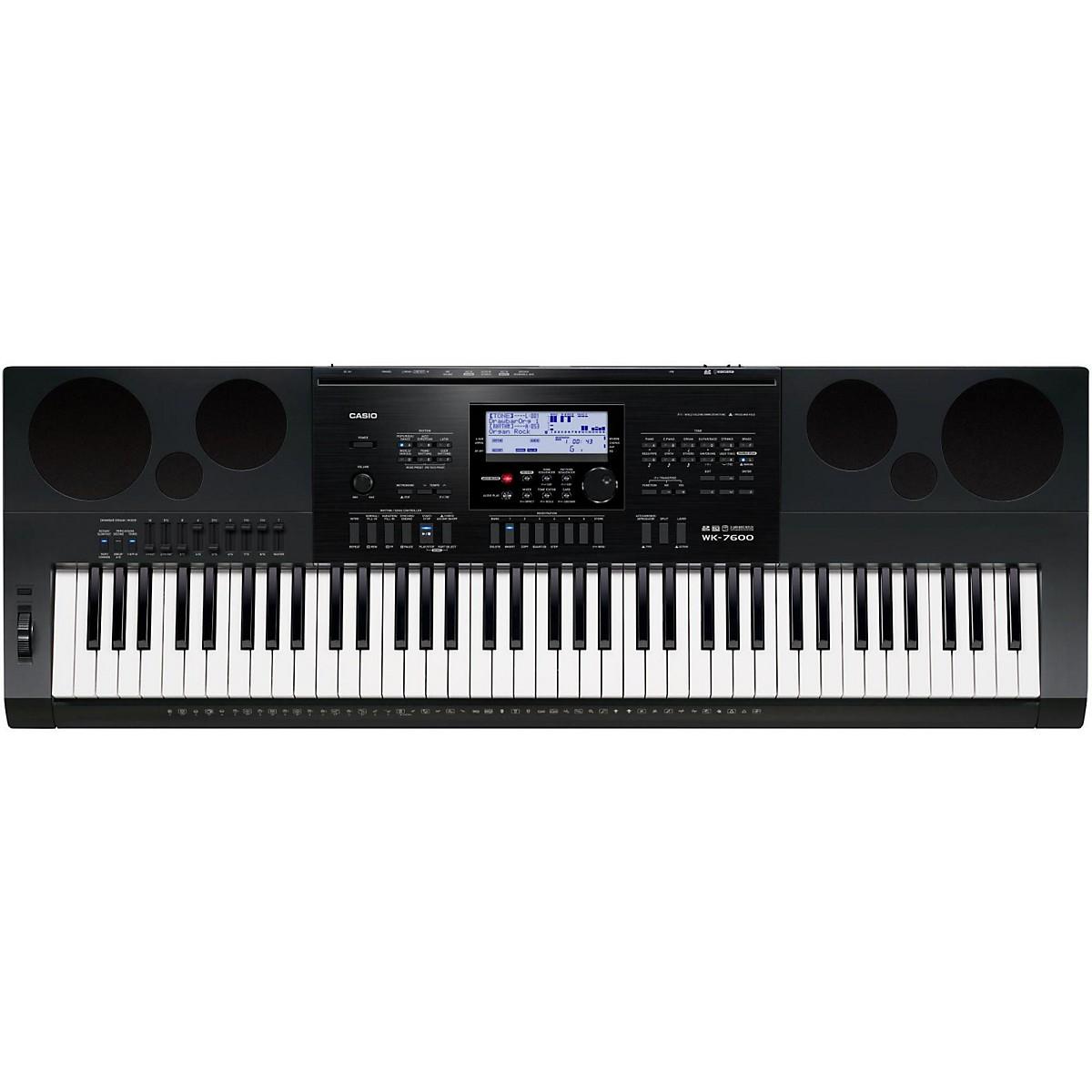 Casio WK-7600 76-Key Portable Keyboard