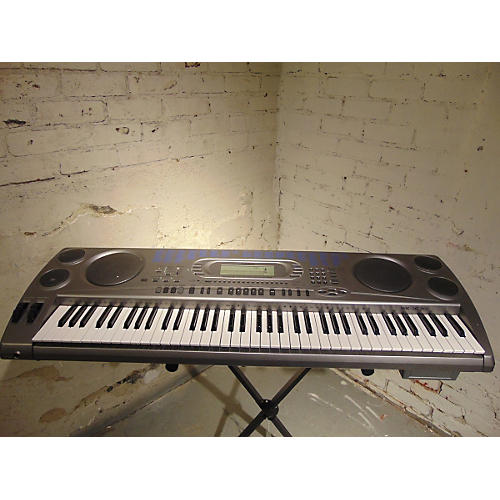 used casio wk1630 76 key portable keyboard guitar center. Black Bedroom Furniture Sets. Home Design Ideas