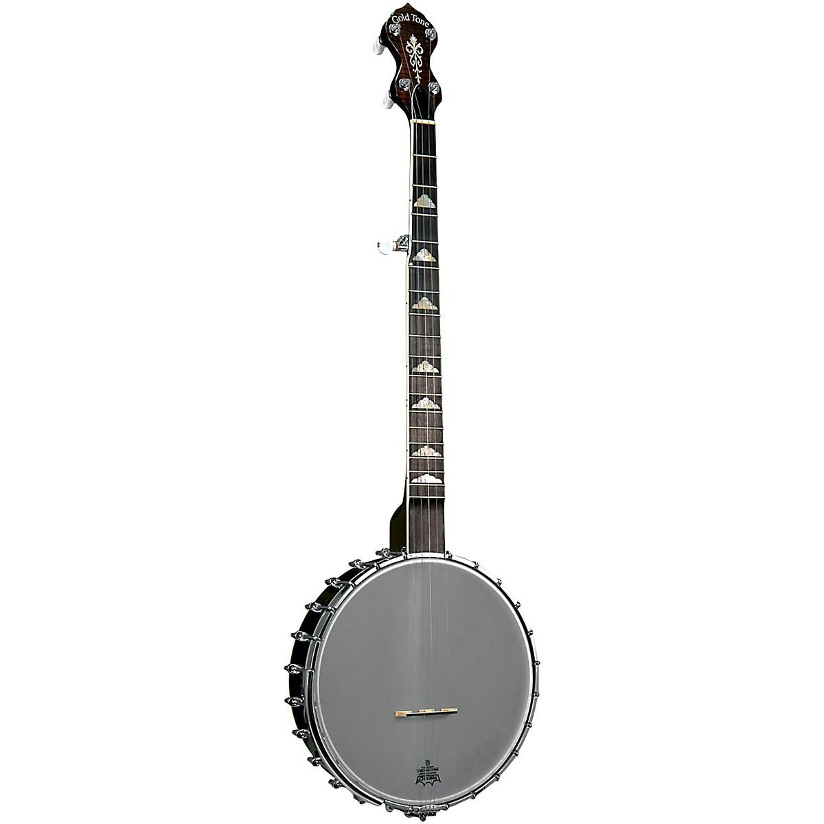 Gold Tone WL-250 White Ladye Left-Handed Open Back Banjo