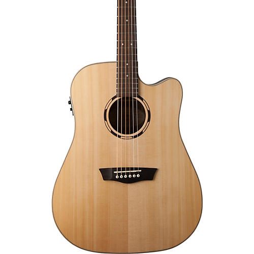 Washburn WLD20SCE Dreadnought Acoustic-Electric guitar