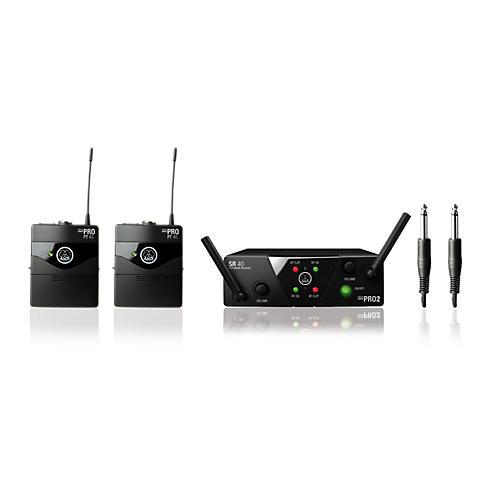 AKG WMS 40 Mini2 Instrument Wireless Microphone Set