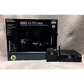 used akg wms40 mini intrument instrument wireless system guitar center. Black Bedroom Furniture Sets. Home Design Ideas