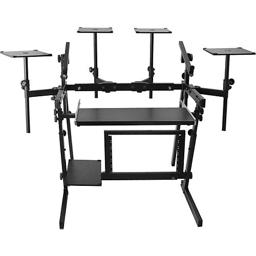 Musician's Gear WS8700 Professional 2-Tier Metal Workstation (Box 3)
