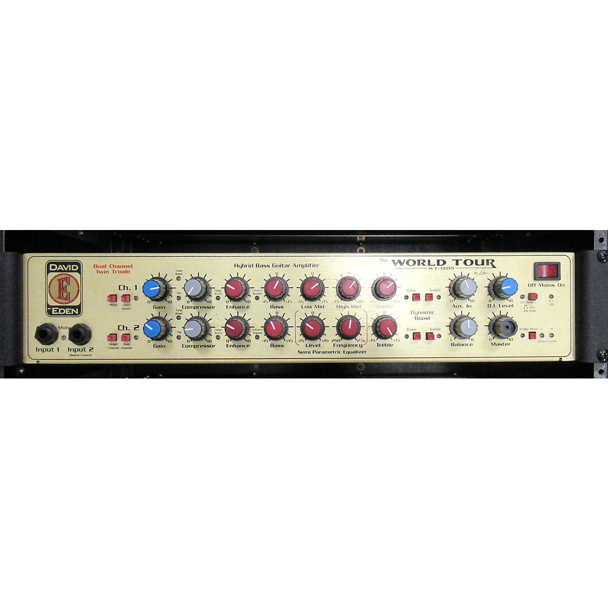 Eden WT-1250 Bass Amp Head