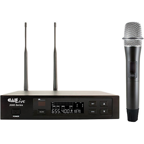 CAD WX3000R Wireless Handheld System