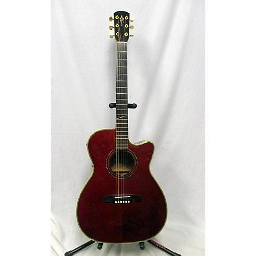 Alvarez WY-1RD Acoustic Electric Guitar