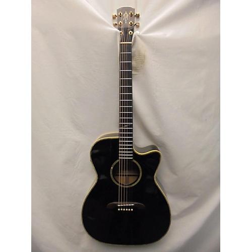 Alvarez WY1 Yairi Stage OM/Folk Acoustic Electric Guitar