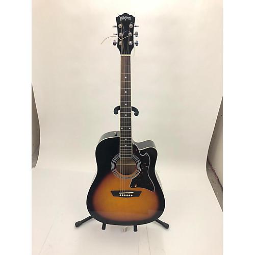 Washburn Wa90cevsb Acoustic Electric Guitar