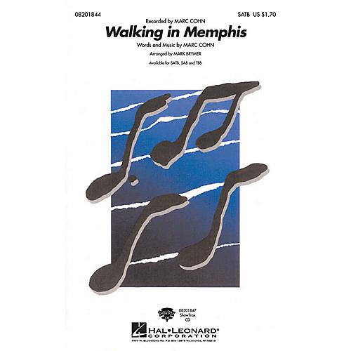 Hal Leonard Walking in Memphis SAB Arranged by Mark Brymer