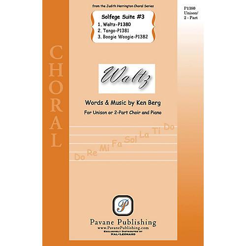 Pavane Waltz (from Solfege Suite #3) 2-Part composed by Ken Berg