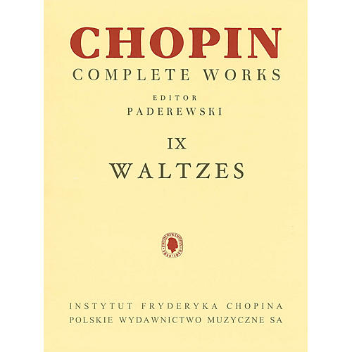 PWM Waltzes (Chopin Complete Works Vol. IX) PWM Series Softcover