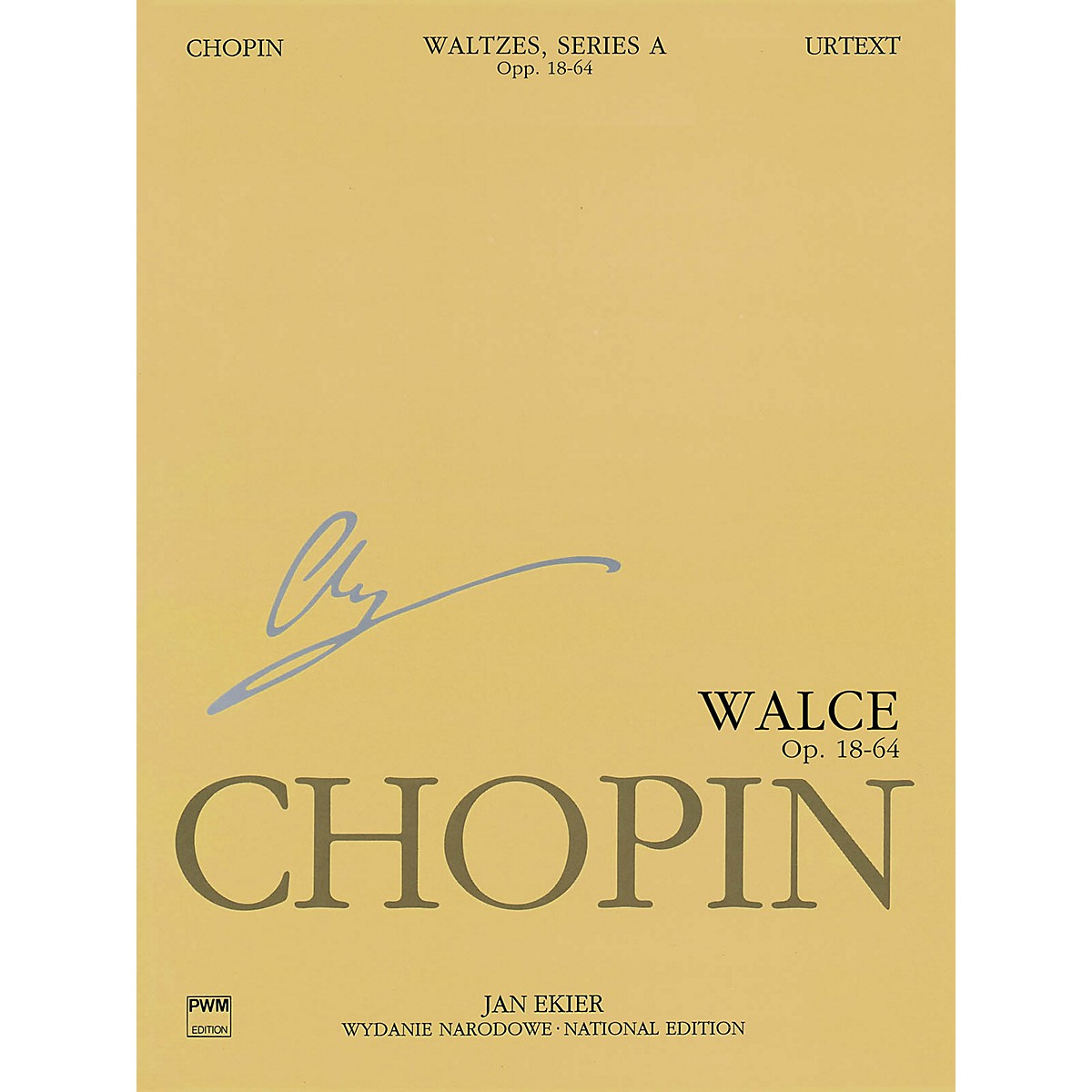 PWM Waltzes Op. 18, 34, 42, 64 (Chopin National Edition 11A, Volume XI) PWM Series Softcover