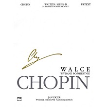 PWM Waltzes, Op. 74 (Published Posthumously) (Chopin National Edition 36B, Vol. X) PWM Series Softcover