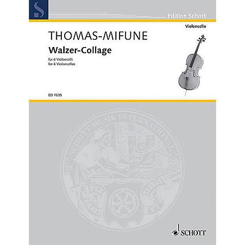 Schott Walzer Collage 6 Celli Sc/pts Schott Series