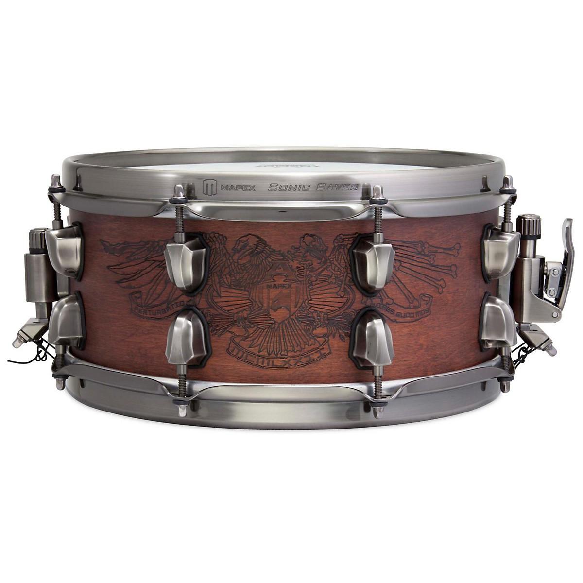 Mapex Warbird Chris Adler Artist Inspired Black Panther Snare Drum