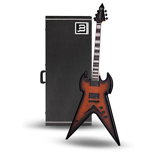 Wylde Audio Warhammer Electric Guitar with Wylde Audio Hardshell Wood Case