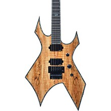 Warlock Extreme Exotic with Floyd Rose Electric Guitar Spalted Maple