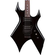 Warlock with Double Locking Tremolo Electric Guitar Black