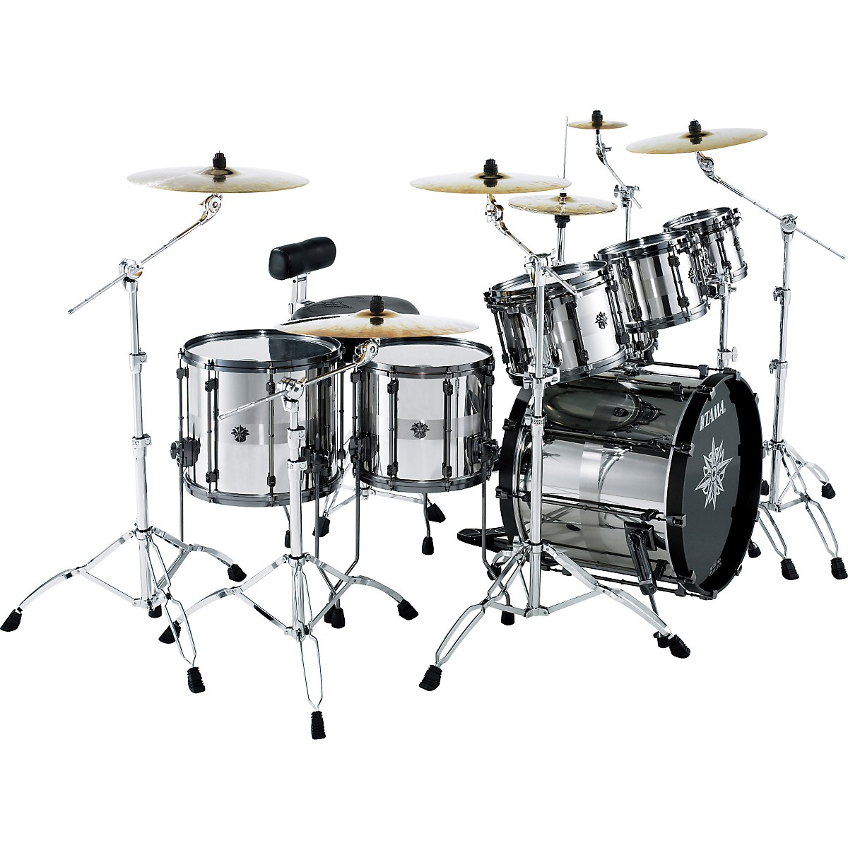 TAMA Warlord Exotix Spartan 7-piece Shell Pack