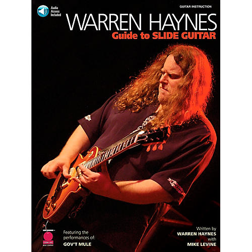 Cherry Lane Warren Haynes - Guide to Slide Guitar Book with Online Audio