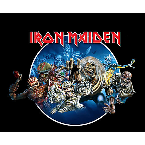 Iron Maiden Wasted Years T-Shirt