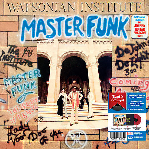 Alliance Watsonian Institute - Master Funk - Red Vinyl 2017 Limited Edition