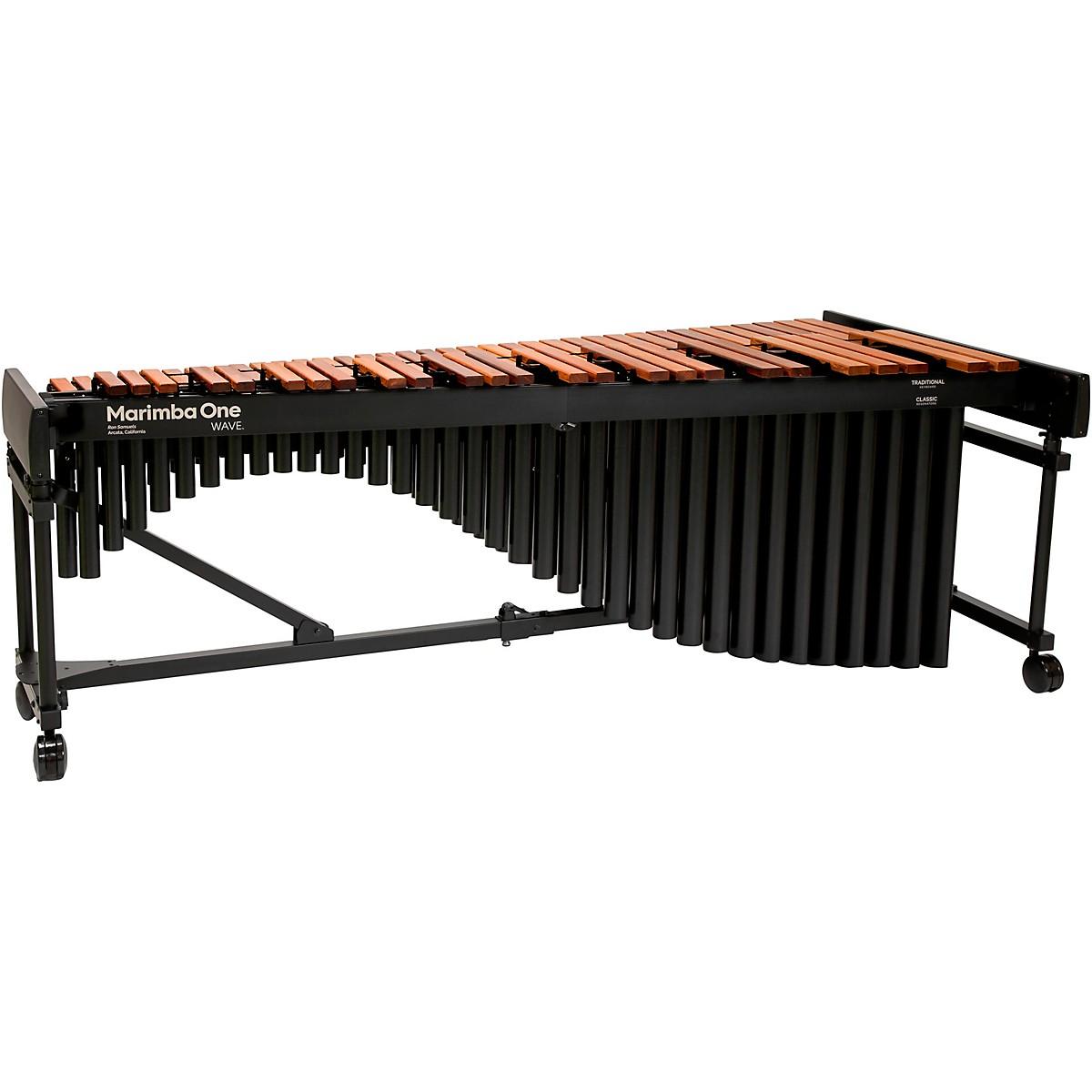 Marimba One Wave #9601 A442 5.0 Octave Marimba with Traditional Keyboard and Classic Resonators 4
