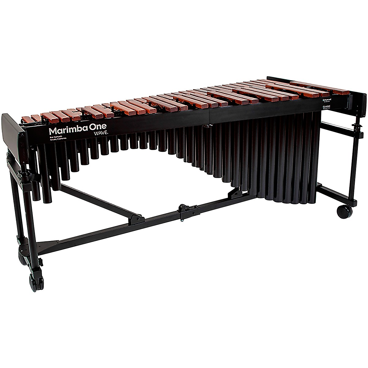 Marimba One Wave #9621 A440 4.3 Octave Marimba with Traditional Keyboard and Classic Resonators 4