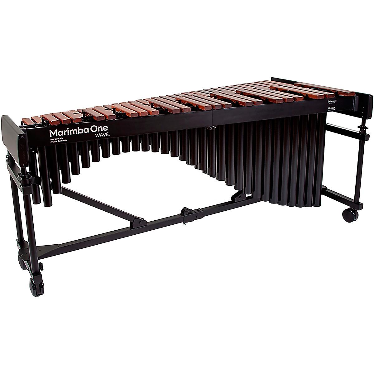 Marimba One Wave #9622 A440 4.3 Octave Marimba with Enhanced Keyboard and Classic Resonators 4