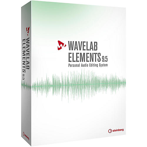 Steinberg WaveLab Elements 9.5 Upgrade from WaveLab Elements 7