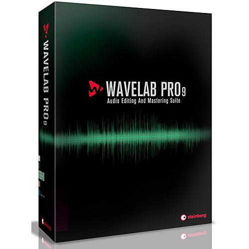 Steinberg WaveLab Pro 9 Update from WaveLab 7