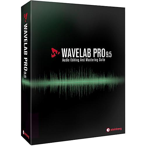 Steinberg WaveLab Pro 9.5 Upgrade from WaveLab 8