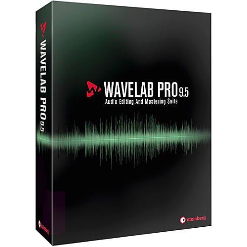 Steinberg WaveLab Pro 9.5 Upgrade from WaveLab Elements 7,8,9,9.5