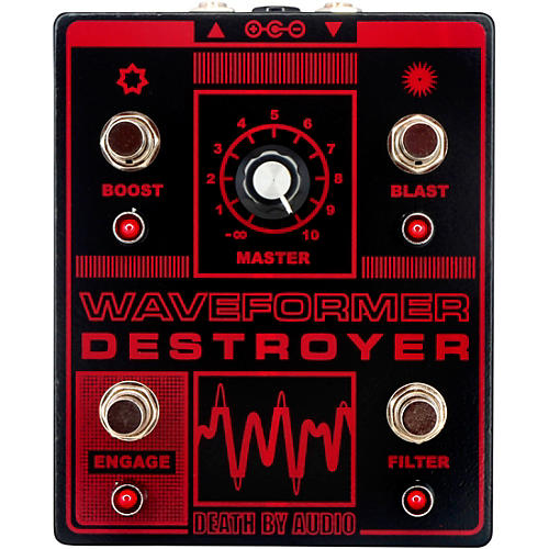 Death By Audio Waveformer Destroyer Multi-channel Fuzz Effects Pedal